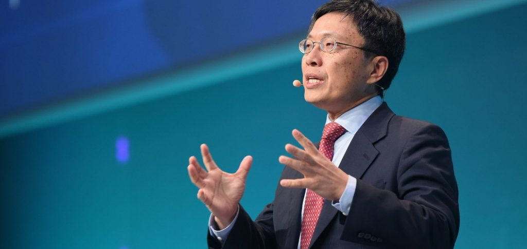 Harry Shum, Executive Vice President de Microsoft, en charge de l'intelligence artificielle